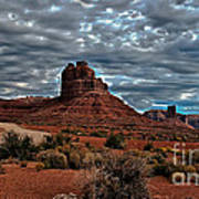 Valley Of The Gods II Art Print by Robert Bales