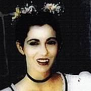 Vampire Bride Art Print