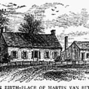 Van Buren: Birthplace Art Print