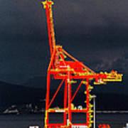 Vancouver, Bc - Harbour Art Print