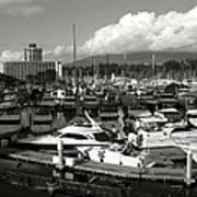 Vancouver Marina Art Print by Kamil Swiatek
