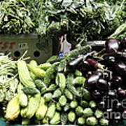 Variety Of Fresh Vegetables - 5d17828 Art Print