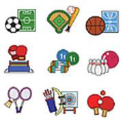 Various Sports Art Print