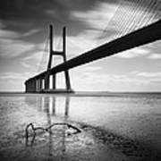 Vasco Da Gama Bridge I Art Print