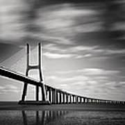 Vasco Da Gama Bridge IIi Art Print