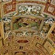 Vatican Ceiling Art Print