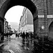 Vatican City Wall Rainy Art Print