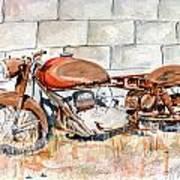 Vecchia Gilera Art Print