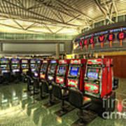 Vegas Airport 2.0 Art Print