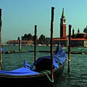 Venetian Gandola Art Print