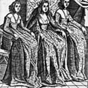 Venetian Women, C1600 Art Print