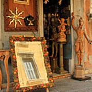 Venice Antique Shop Art Print