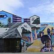 Venice Beach Wall Art 2 Art Print