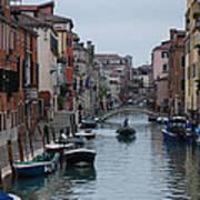 Venice Commuter Art Print
