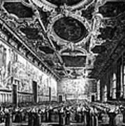 Venice: Doges Palace Art Print