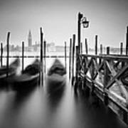 Venice Gondolas II Art Print