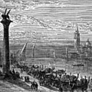 Venice: Grand Canal, 1875 Art Print