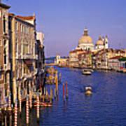 Venice, Grand Canal, Italy Art Print