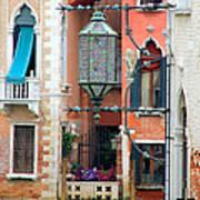 Venice Lamp Art Print