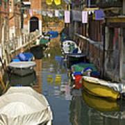 Venice Laundry Art Print