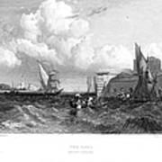 Venice: Lido, 1833 Art Print