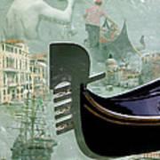 Venice Montage Art Print
