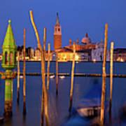 Venice Night Art Print