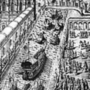 Venice: Procession Art Print