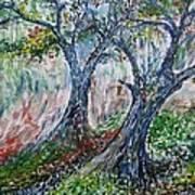 Verde Park Art Print