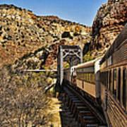 Verde Valley Railway Art Print