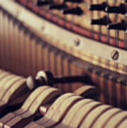 Vertical Piano Art Print by Isabelle Lafrance Photography