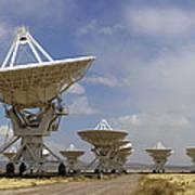 Very Large Array (vla) Radio Antennae Art Print