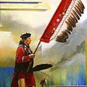 Veteran Dancer Art Print