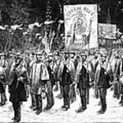 Veteran March, 1876 Art Print by Granger