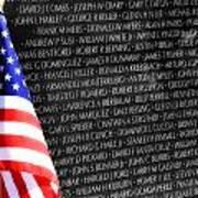 Veterans Memorial  Art Print