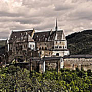 Vianden Castle - Luxembourg Print by Juergen Weiss