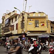 Vibrant Hanoi Art Print