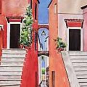 Vico Giardini Art Print by Regina Ammerman