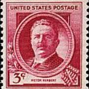 Victor Herbert Postage Stamp Art Print
