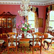 Victorian Dining Art Print