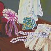 Victorian Lace Art Print