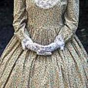 Victorian Lady Art Print by Joana Kruse