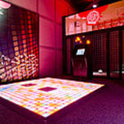 Videogame A Musical Floor Game On A Mat Print by Corepics