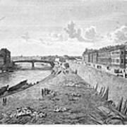 Vienna: Danube, 1821 Art Print