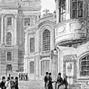 Vienna: Hofburgtheater Art Print