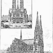 Vienna: Votive Church Art Print