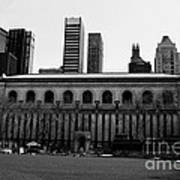 View From Bryant Park Nyc Art Print by Trude Janssen