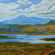 View From Chimney Rock Art Print