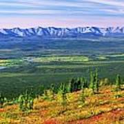 View From Ogilvie Ridge Lookout Art Print
