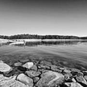 View From The Boat Ramp Art Print